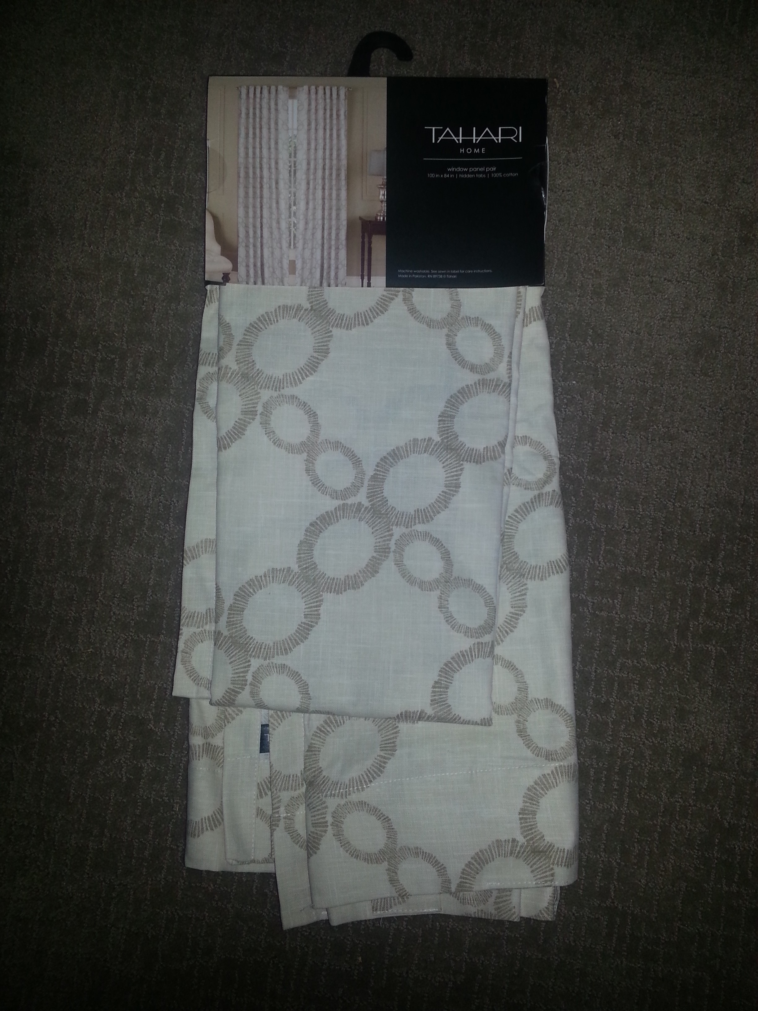 Curtain fabric used for chair covers