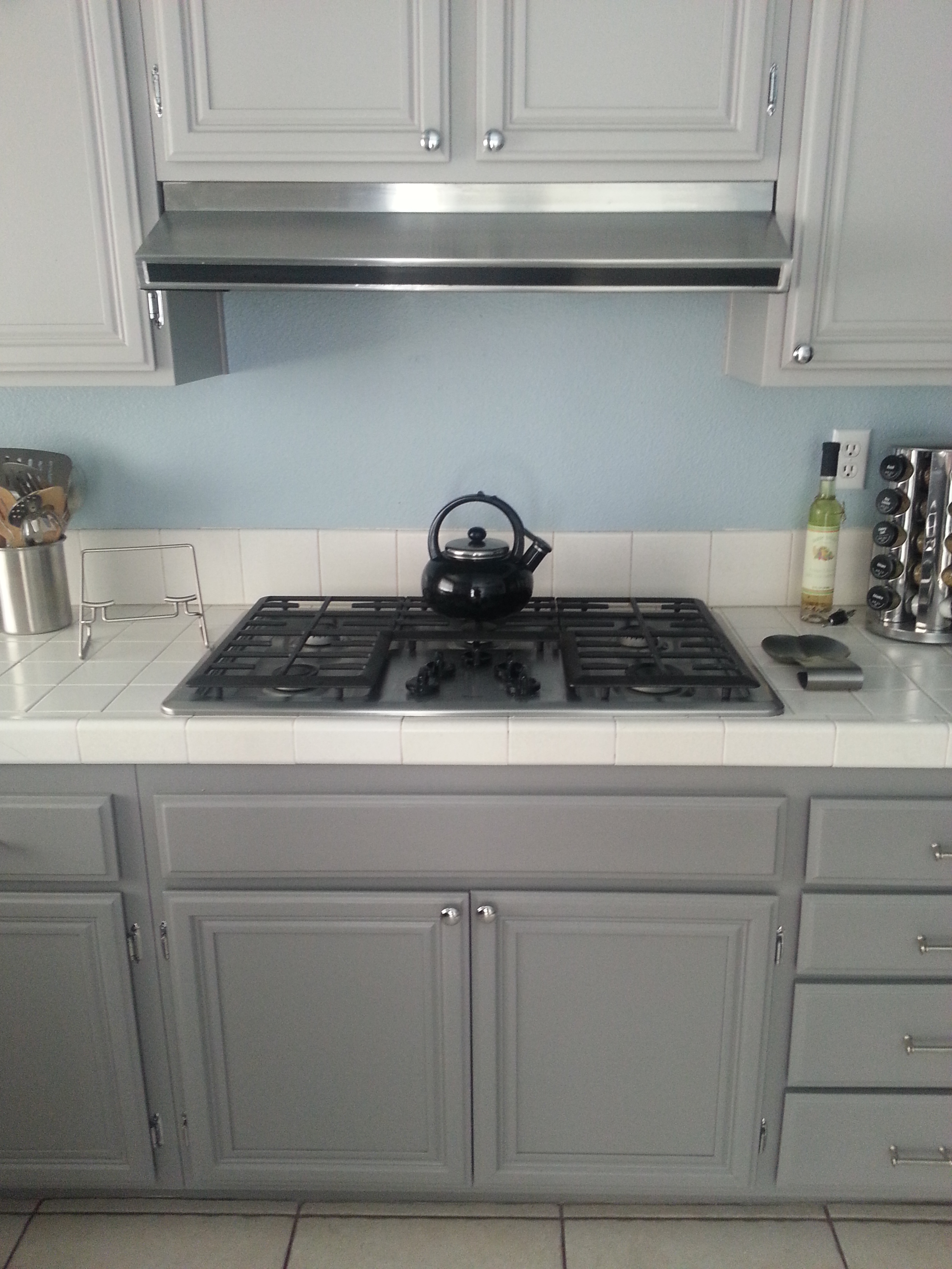 Stove install overall