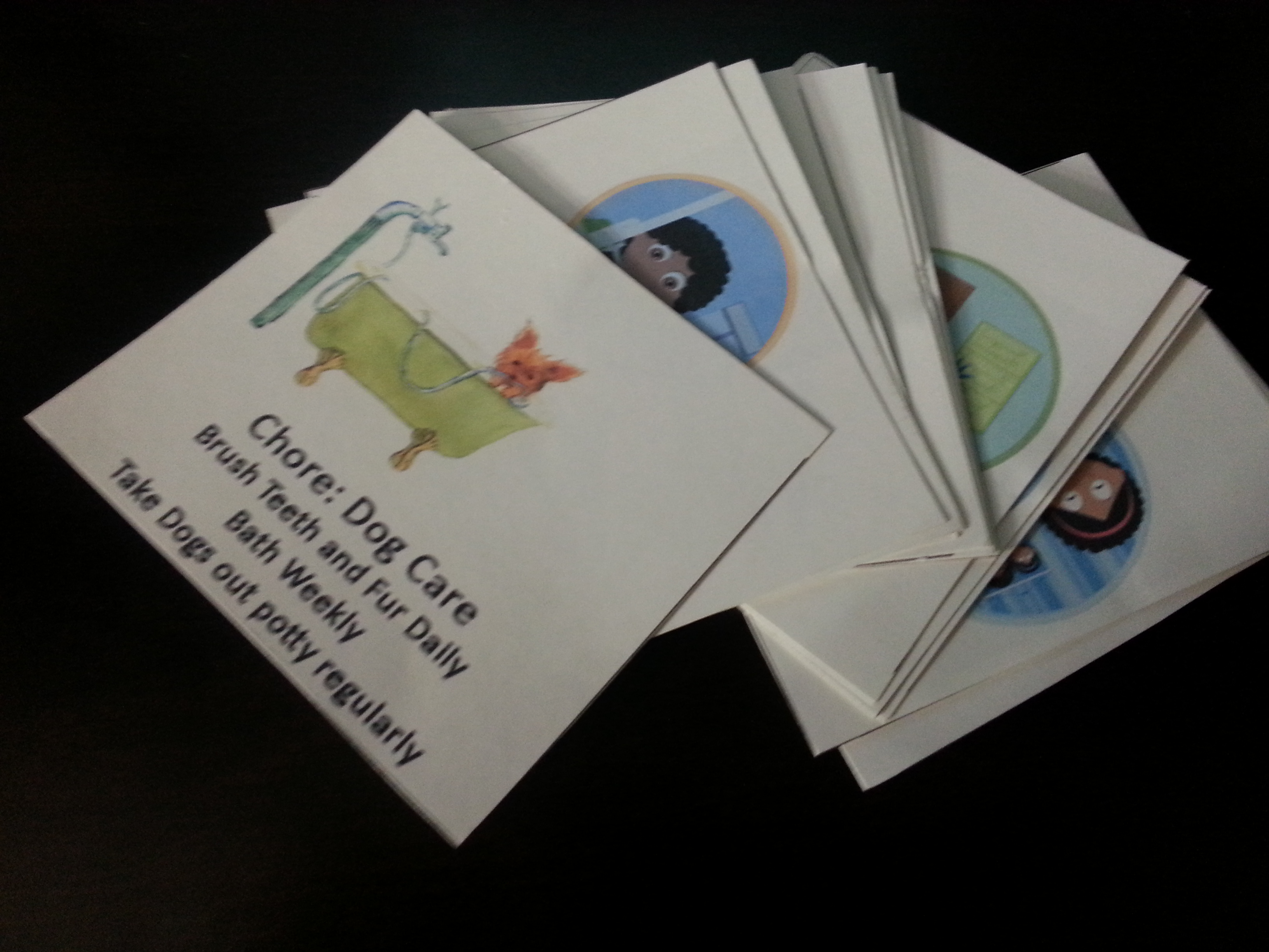 Chore Cards 2