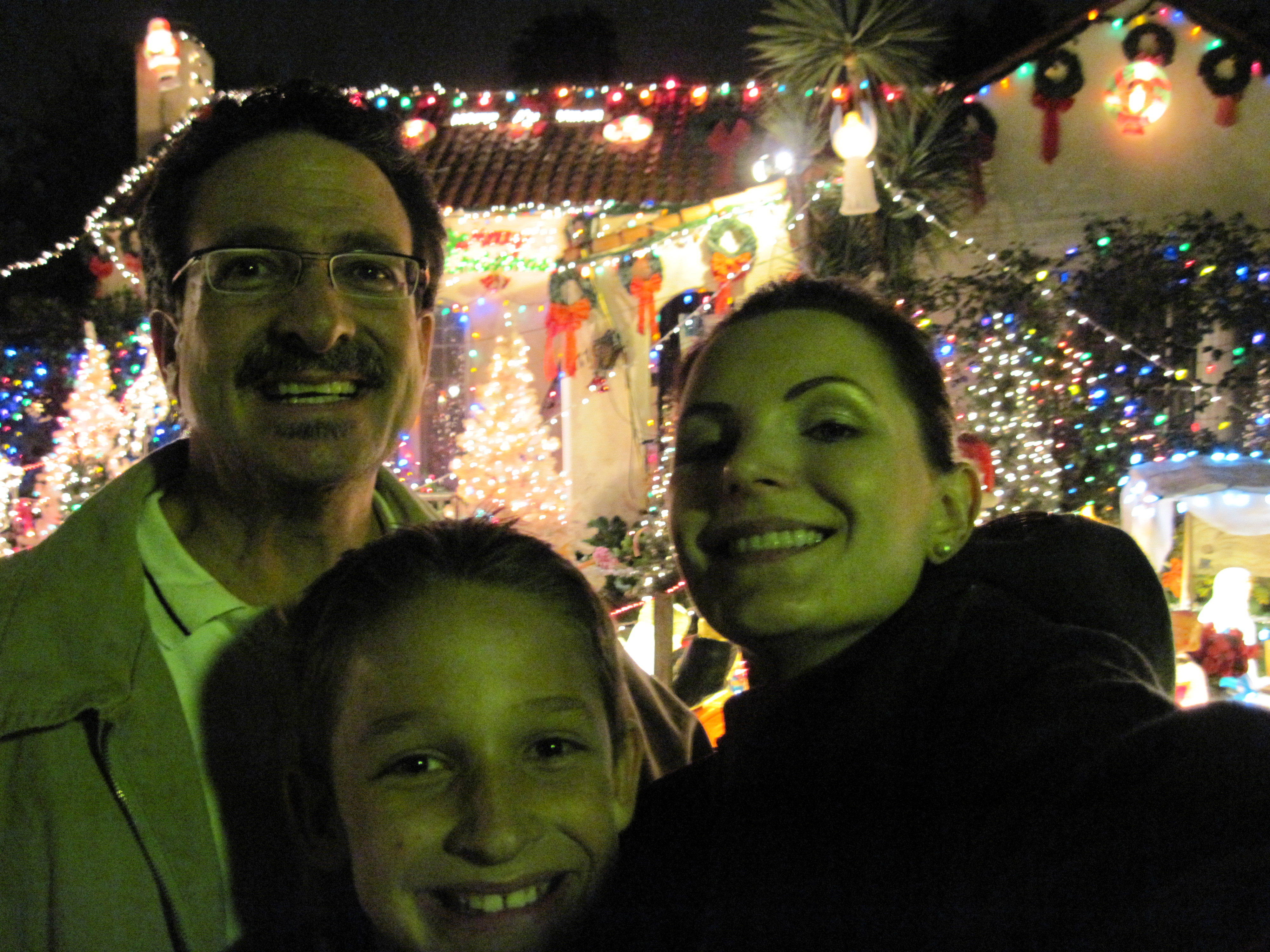 Our Christmas Lighting Viewing Tradition