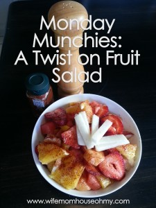 Fruit Salad w a Twist of Lime www.wifemomhouseohmy.com