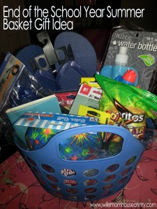 While Andrew's basket was made for a teen, it can easily be customized for anyone of any age.