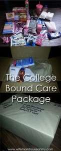The College Bound Care Package www.wifemomhouseohmy.com