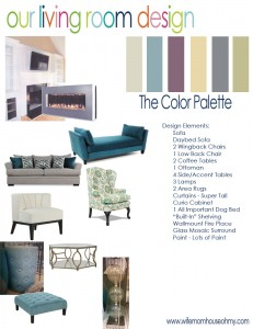 Here are the details for our living room design.