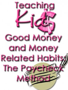 The Paycheck Method www.wifemomhouseohmy.com