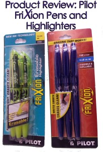 FriXion Pens and Highlighters www.wifemomhouseohmy.com
