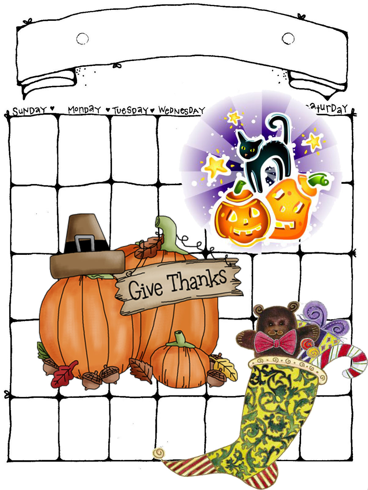 holidays preparedness wwwwifemomhouseohmycom - Halloween Thanksgiving Christmas