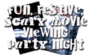 Fun, Festive, Scary Movie Viewing Party Night www.wifemomhouseohmy.com