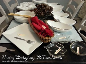 Hosting Thanksgiving - The Last Details www.wifemomhouseohmy.com