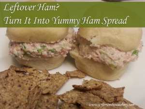Leftover Ham? Turn It Into Yummy Ham Spread www.wifemomhouseohmy.com