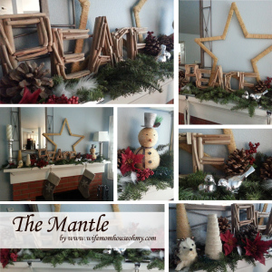 The Mantle www.wifemomhouseohmy.com