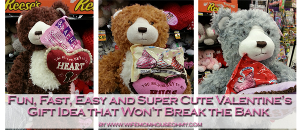 Fun, Fast, Easy and Super Cute Valentine's Gift Idea that Won't Break the Bank www.wifemomhouseohmy.com