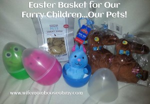 Easter Basket for Our Furry Children Our Pets Items www.wifemomhouseohmy.com