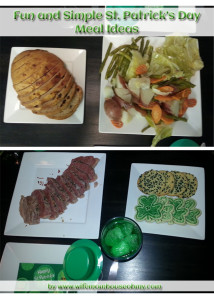 Fun and Simple St. Patrick's Day Meal www.wifemomhouseohmy.com