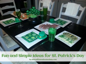 Fun and Simple Ideas for St. Patrick's Day www.wifemomhouseohmy.com