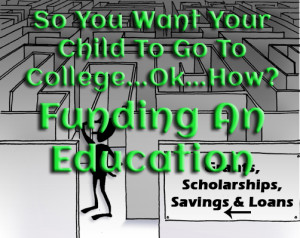 Funding an Education www.wifemomhouseohmy.com