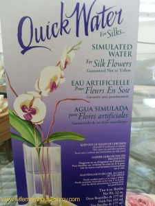 Quick Water for Simulated Water for Silks www.wifemomhouseohmy.com