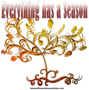 Everything has a season www.wifemomhouseohmy.com