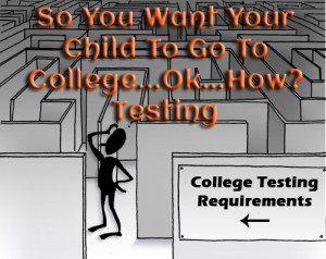 So You Want Your Child To Go To College...Ok...How? Testing www.wiifemomhouseohmy.com
