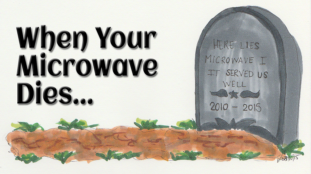 Image Gallery Dead Microwave