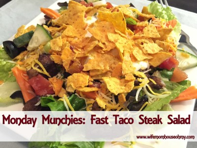 Fast Taco Steak Salad