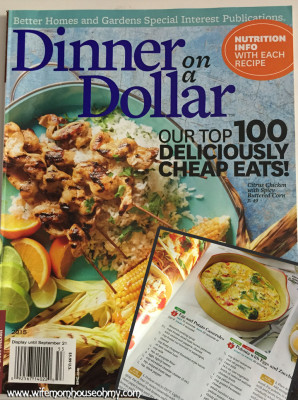 Better Homes and Gardens Dinner on a Dollar