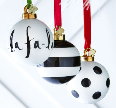 Kate SpadeDeck the Halls Ornaments