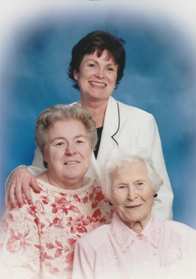 My momma (top), my aunt (middle) and my grandma, their momma (bottom)